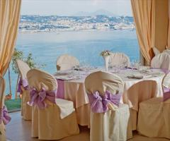 Tavoli per il matrimonio a Napoli
