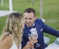 Manfredi Ricevimenti - Un brindisi per gli sposi