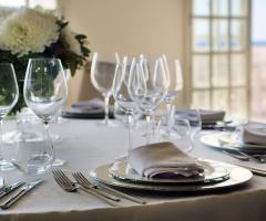 Grand Hotel Riviera - I dettagli della tavola
