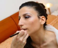 Rosa Laguardia Hair Style - Il trucco della sposa