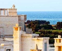 Borgo Egnazia - Una vista dall'alto del mare