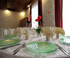 Ristorante Piccolo Mondo - Il tavolo degli invitati
