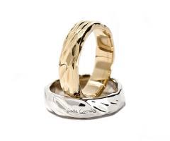 Eros Comin Gioielli - Fedi nuziali in oro biaco o giallo