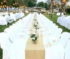 Guna Beach Club - Allestimento per il ricevimento di nozze