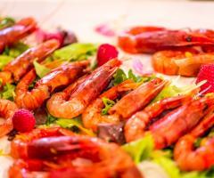 T'a Milano Catering & Banqueting - Cruditè di gamberi