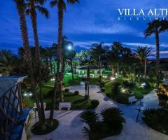 Villa Althea Ricevimenti - I giardini di sera