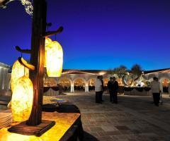 Villa Menelao - Allestimento del matrimonio all'aperto