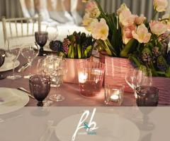 F&B Luxury Events - Allestimento chic per il ricevimento