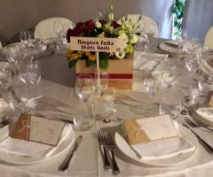 Sara Carloni Studio - Tavolo matrimonio tema viaggio
