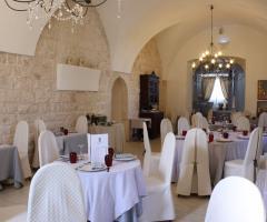 Masseria Santa Teresa - La sala ristorante interna