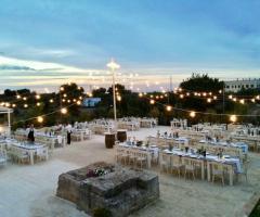 Casale del Murgese - Vista panoramica dell'allestimento serale
