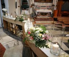 Luisa Mascolino Wedding Planner Sicilia- Gli addobbi floreali in chiesa