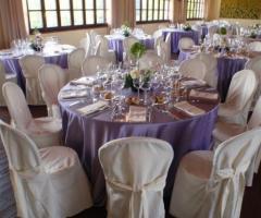 Tavoli per il ricevimento di nozze