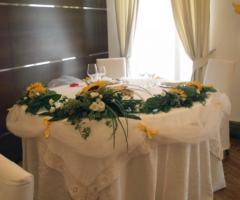 Fiori e addobbi per il matrimonio lady flowers a torino lady flowers foto 1 - Addobbo tavolo casa sposa ...