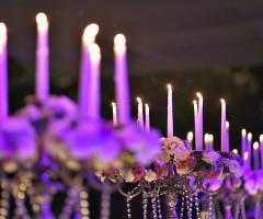 Mama Casa in Campagna - Il rinfresco del matrimonio al lume di candela