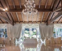 Villa Demetra - Il salone per il ricevimento di matrimonio a Foggia