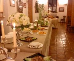 Villa del Vecchio Pozzo - Antipasti per il ricevimento di matrimonio