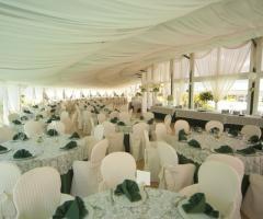 Sala per il ricevimento di matrimonio