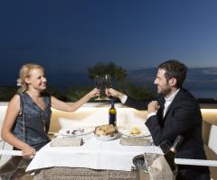 Grand Hotel Riviera - Tavolo con vista panoramica per gli sposi