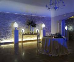 Masseria Cariello Nuovo -  Suggestiva coreografia del tavolo degli sposi