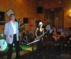 Sax Blond Letizia Brunetti - Musica live ad Ancona