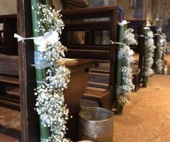 My White Carpet - Le decorazioni in chiesa