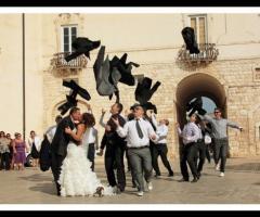 Foto in stile reportage per le nozze
