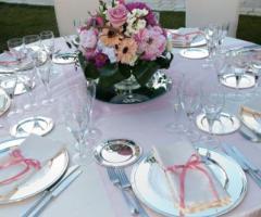 Villa Royal - Le Cascate - Centrotavola per il matrimonio