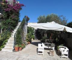 Masseria Montepaolo - Gli ambienti esterni dell'agriturismo