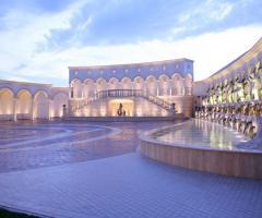 Le fontane della location di nozze