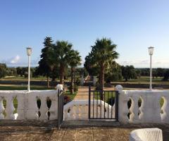 Masseria Eccellenza - Vista del parco