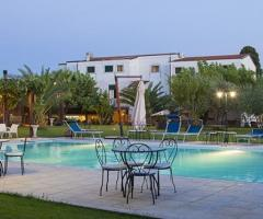 Masseria Montepaolo - La masseria al tramonto