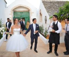 Masseria San Michele - L'arrivo degli sposi