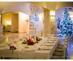 Masseria Cariello Nuovo - Addobbi natalizi per il matrimonio