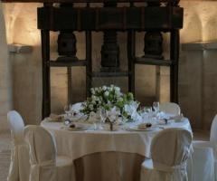 Ricevimento di matrimonio nella Sala della Pietra