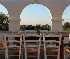 Masseria Casamassima - Tavolo all'aperto