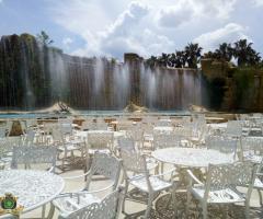 Parco dei Principi Ricevimenti - I tavoli all'aperto