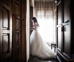 Foto rubata della sposa