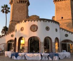 Oasi  Quattro Colonne - Preparativi per il rinfresco di nozze