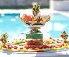 Masseria Montepaolo - Coreografia di frutta