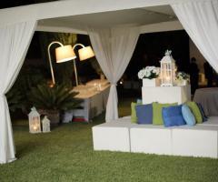 Luisa Mascolino Wedding Planner Sicilia - l'angolo per l'aperitivo
