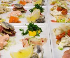 Parco dei Principi Ricevimenti - Il pesce crudo