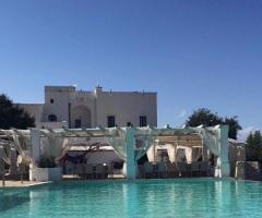 Masseria Santa Teresa - Dal bordo della piscina
