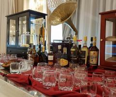 Villa Reale Ricevimenti - Il tavolo dei liquori