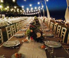 Guna Beach Club - Ricevimento di nozze di sera