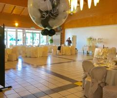 Bang Bang Wedding - Decorazioni in allestimento