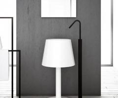Desidea Arredamenti - Lavabo d'arredo a colonna Light white