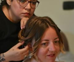 Tatiana Ruiz Make up - I vari passaggi per l'acconciatura