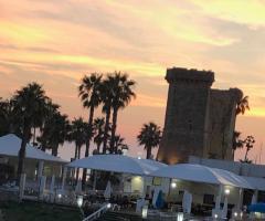 Oasi  Quattro Colonne - Una panoramica al tramonto