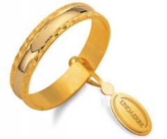 Fedina classica Unoaerre in oro